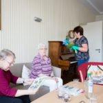 Die Mieter unserer Wohngemeinschaft können sich an der Hausarbeit beteiligen. Sie müssen es aber nicht. (Foto: SMMP/Beer)